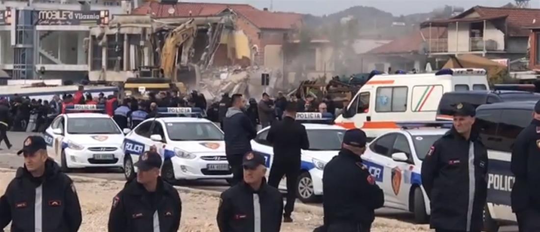 Αλβανία: αιματηρά επεισόδια για την κατεδάφιση σπιτιών (εικόνες)