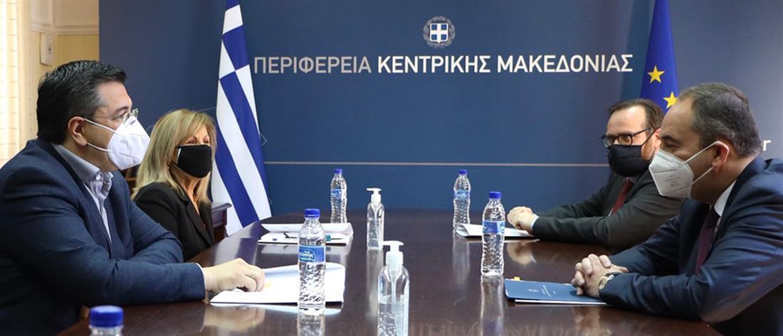Θεσσαλονίκη: Πλακιωτάκης - Τζιτζικώστας για το παραλιακό μέτωπο και την ακτοπλοϊκή σύνδεση