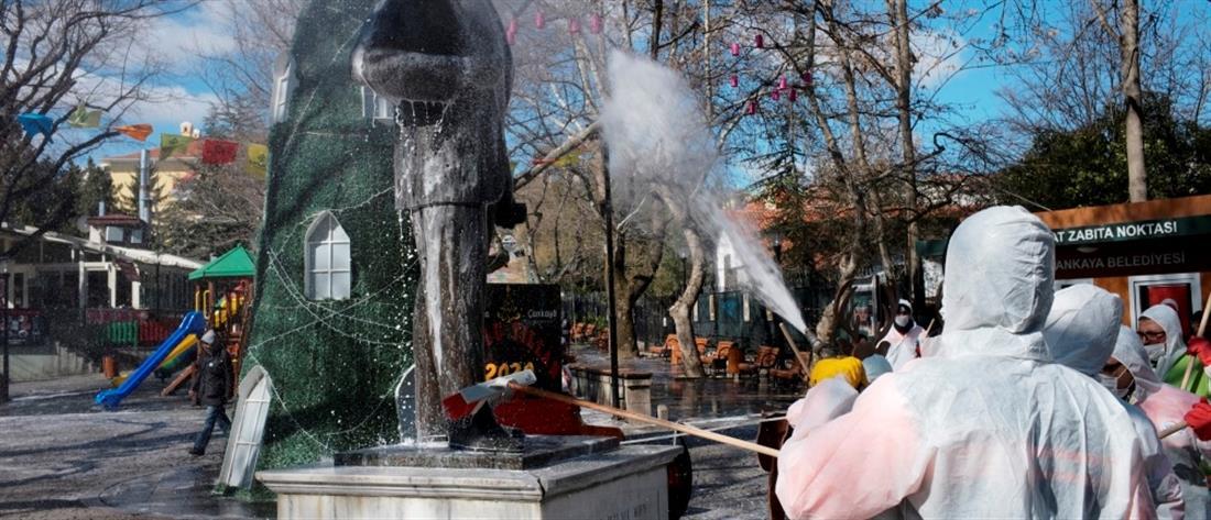 Κορονοϊός: 44 οι νεκροί στην Τουρκία