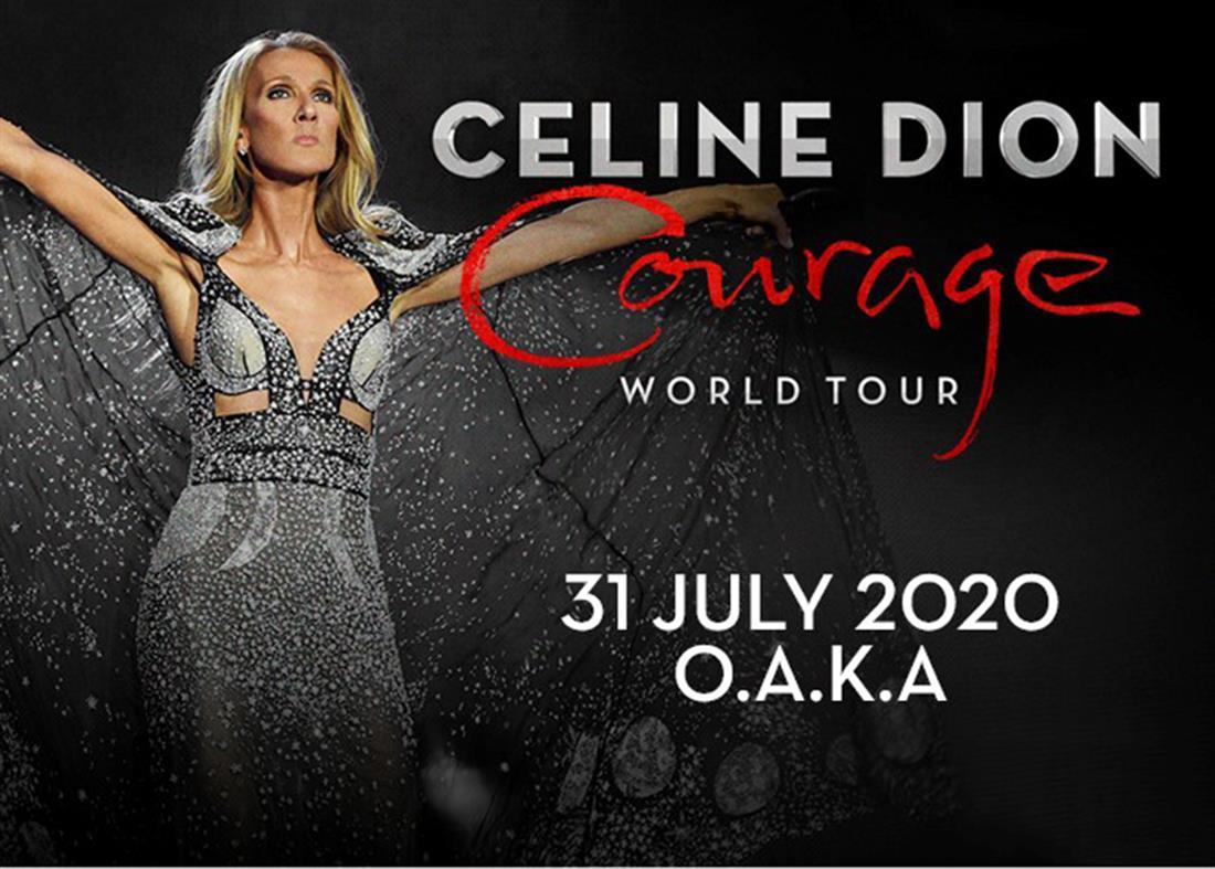 CELINE DION - COURAGE WORLD TOUR - ΟΑΚΑ
