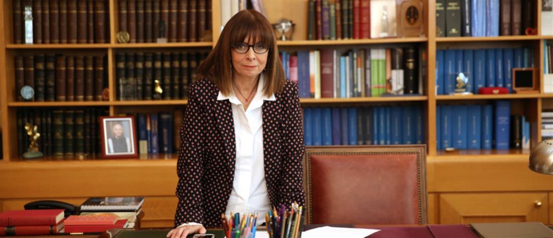 Αικατερίνη Σακελλαροπούλου: Οι πρώτες δηλώσεις μετά την εκλογή της (βίντεο)
