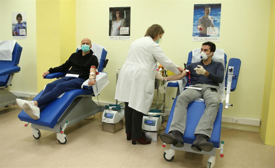 Εθνική 2004 - Εθελοντική αιμοδοσία