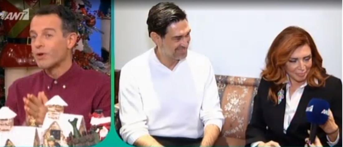 Ο Μπουράκ Χακί, η Μιμή Ντενίση και η πρόταση γάμου με την Χαρά Παππά (βίντεο)