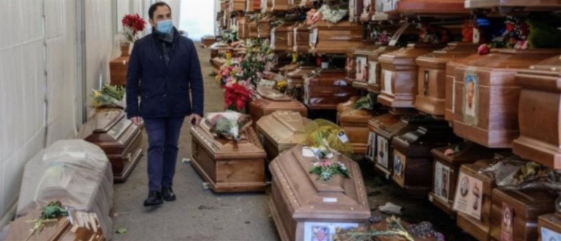 Κορονοϊός - Παλέρμο: Γέμισαν τα νεκροταφεία - 700 νεκροί άταφοι (βίντεο)