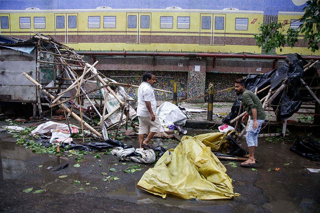 κυκλώνας - Ινδία