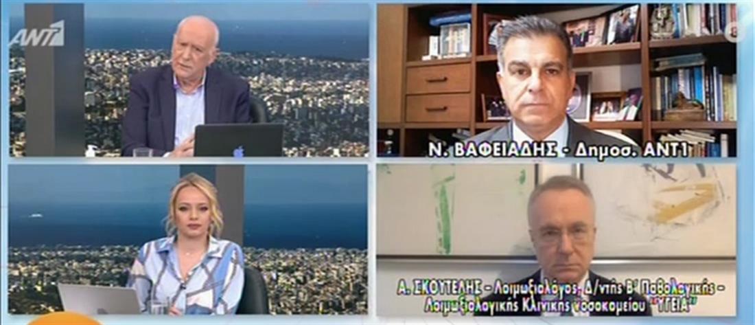 Σκουτέλης στον ΑΝΤ1: άμεσα οι αποφάσεις της Ελλάδα για το εμβόλιο της AstraZeneca (βίντεο)