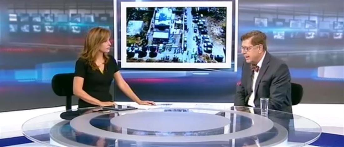 """O Κώστας Συνολάκης στον ΑΝΤ1 για την τραγωδία στο Μάτι, το """"112"""" και τον """"ισχυρό σεισμό"""" (βίντεο)"""