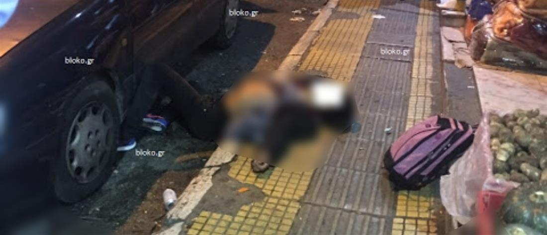 Εικόνες - σοκ από την στυγερή δολοφονία στην Ομόνοια