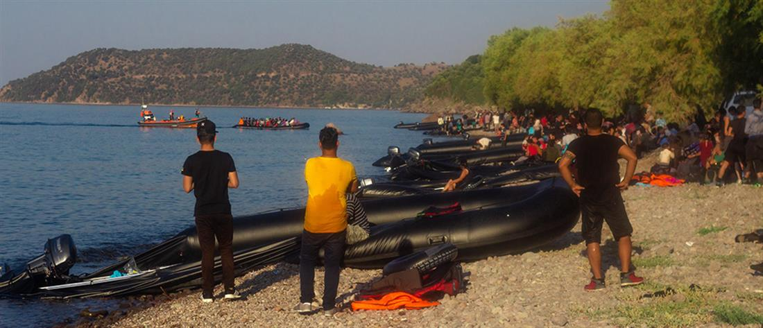 Λέσβος - μετανάστες - πρόσφυγες