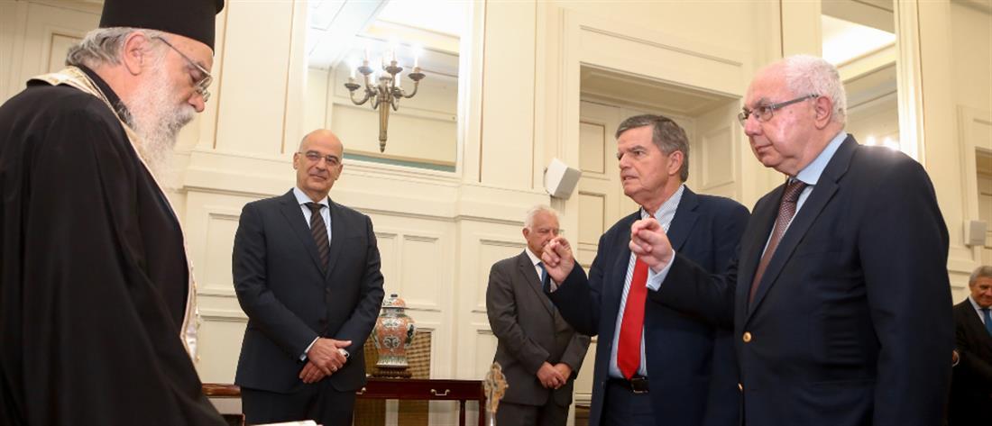 Ο Θανάσης Μαρτίνος ορκίστηκε νέος διοικητής στο Άγιον Όρος