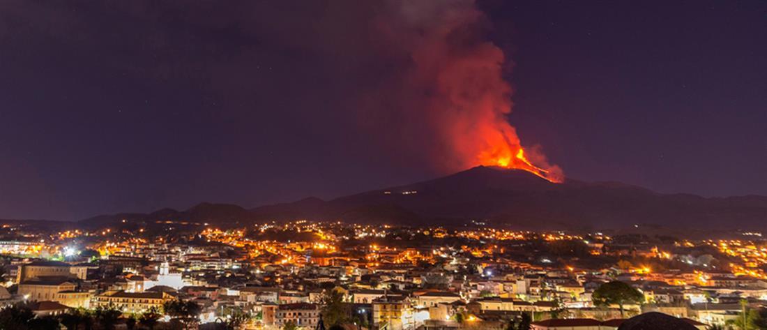 Αίτνα: Νέα έκρηξη στο επιβλητικό ηφαίστειο (εικόνες)
