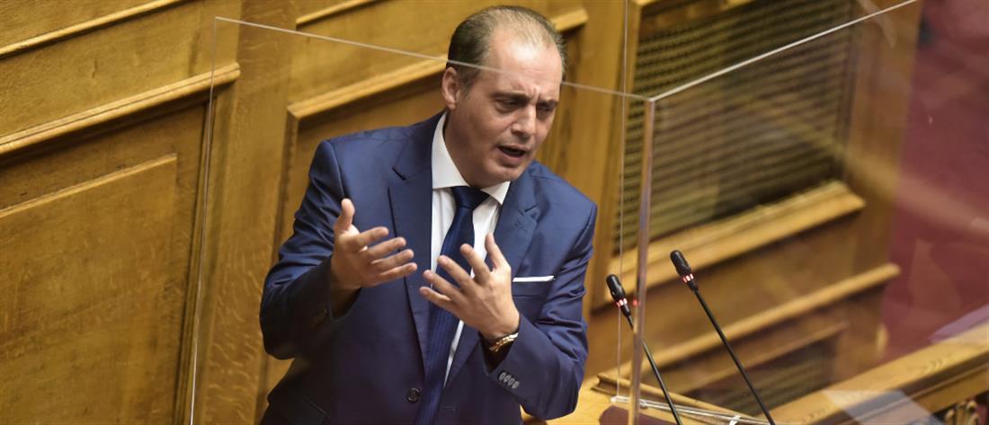 Πρόταση μομφής - Βουλή - Κυριάκος Βελόπουλος