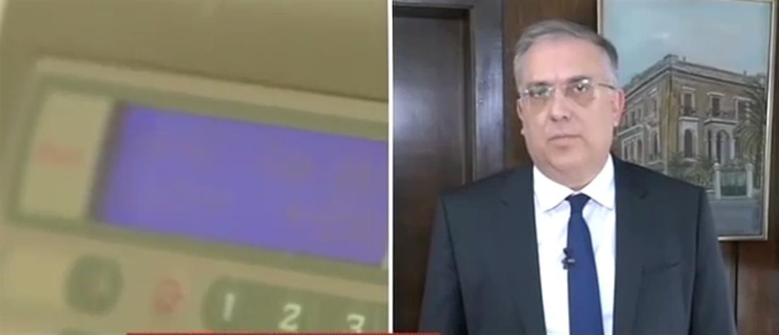 """Ο Τάκης Θεοδωρικάκος στον ΑΝΤ1 για το """"ψηφιακό μάτι"""" στο Δημόσιο (βίντεο)"""