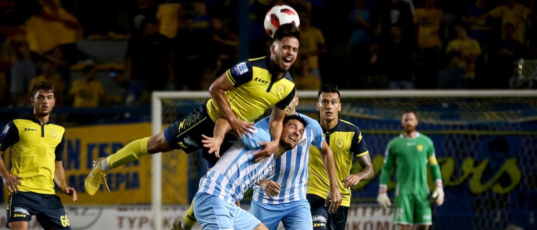 "Super League: χωρίς νικητή έληξε το ""θρίλερ"" στο Αγρίνιο"