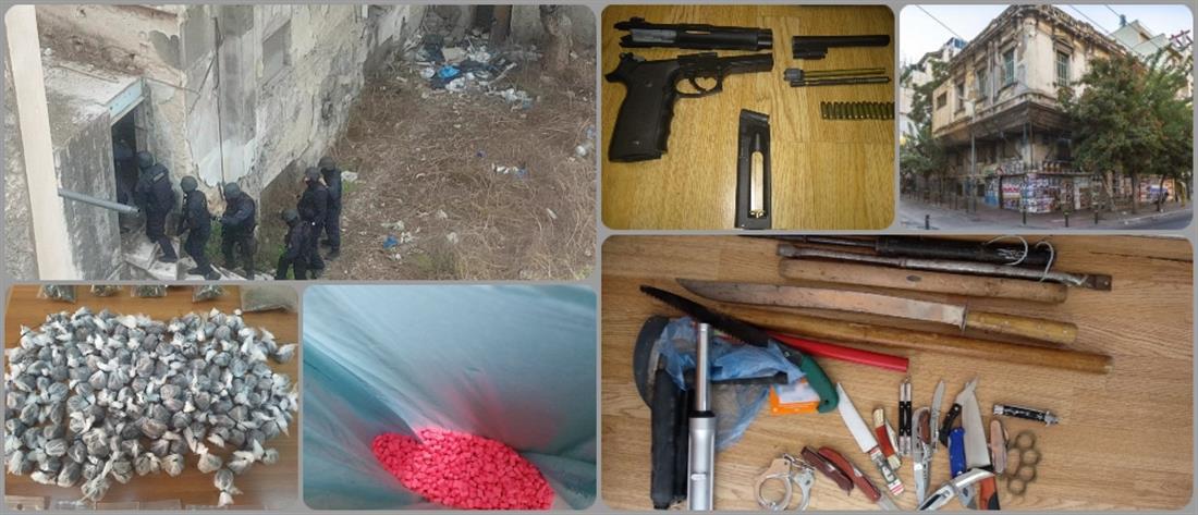 """Αποθήκη ναρκωτικών η """"καβάτζα"""" απέναντι από την ΑΣΟΕΕ (βίντεο)"""
