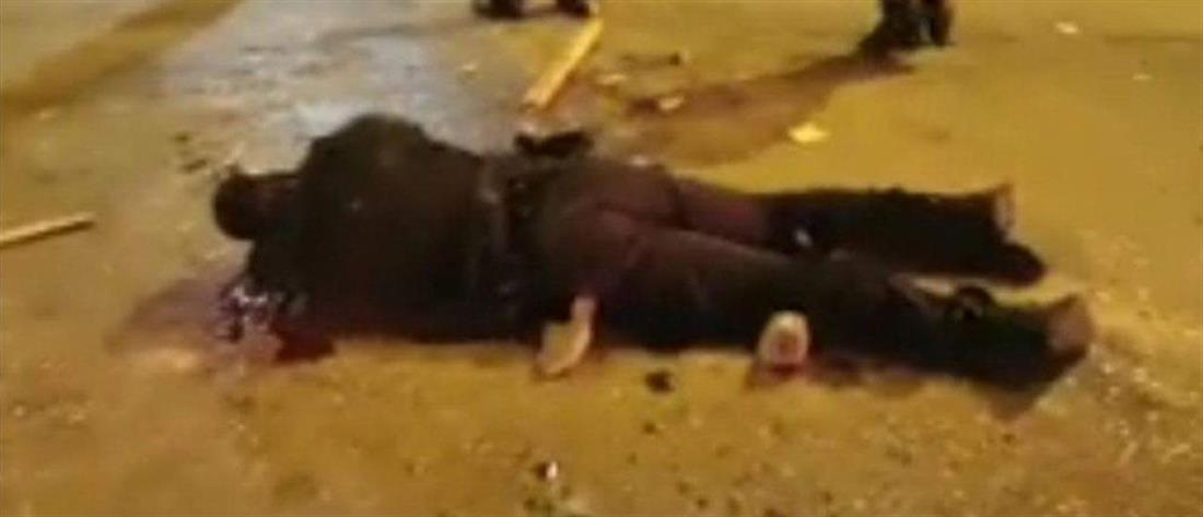 Νέα Σμύρνη - επεισόδια -  αστυνομικός - τραυματίας
