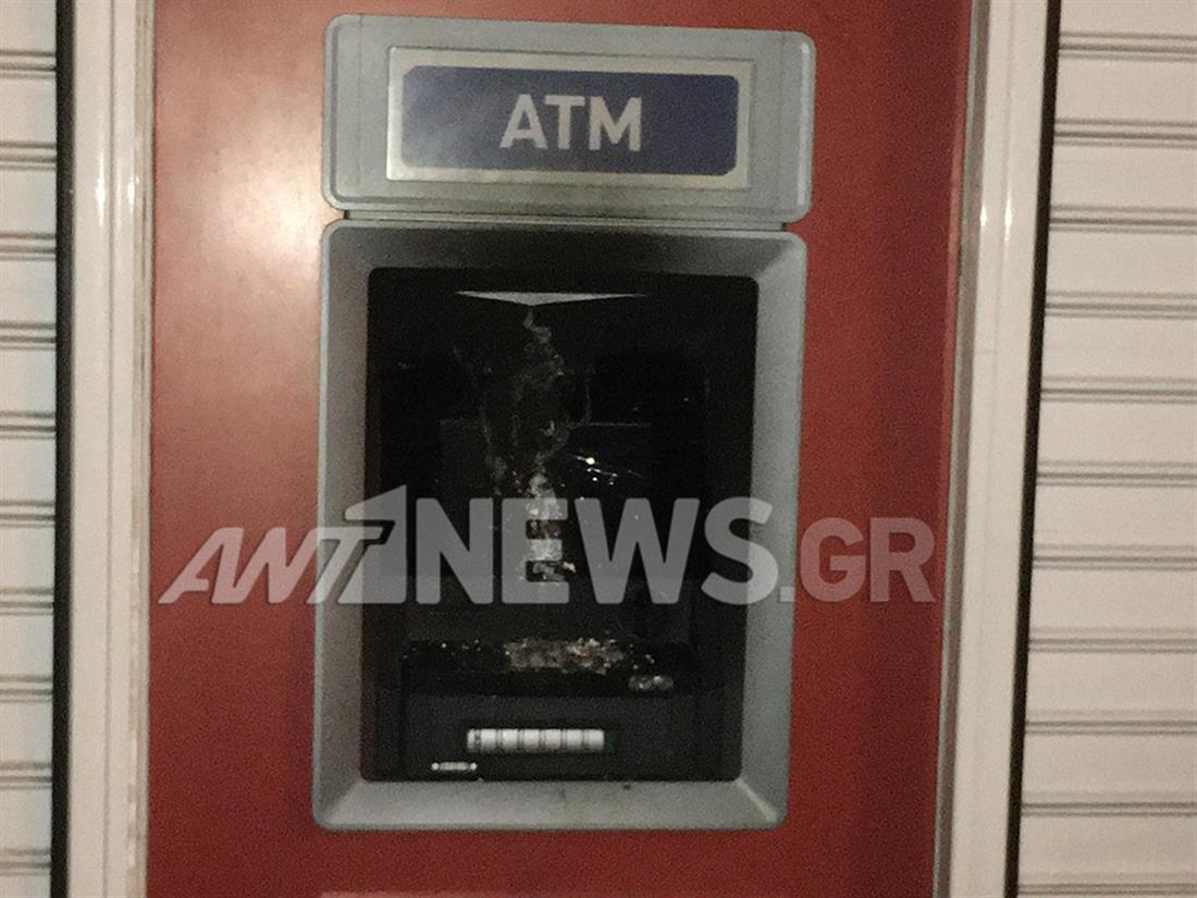 ATM - εμπροσησμός - Πατήσια