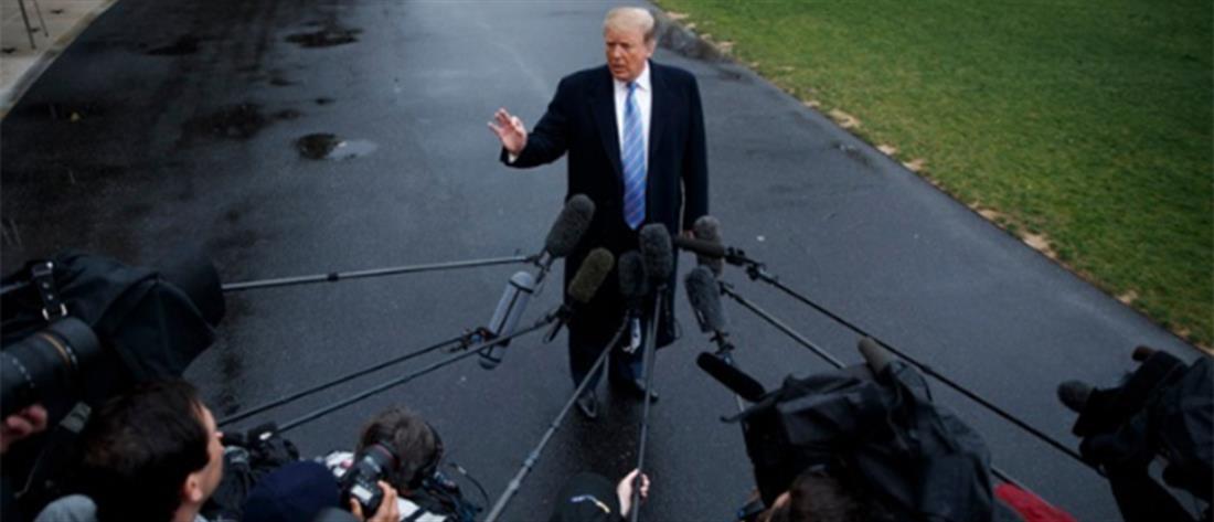 Τραμπ: Οι εμπορικές συνομιλίες με την Κίνα δεν έχουν καταρρεύσει