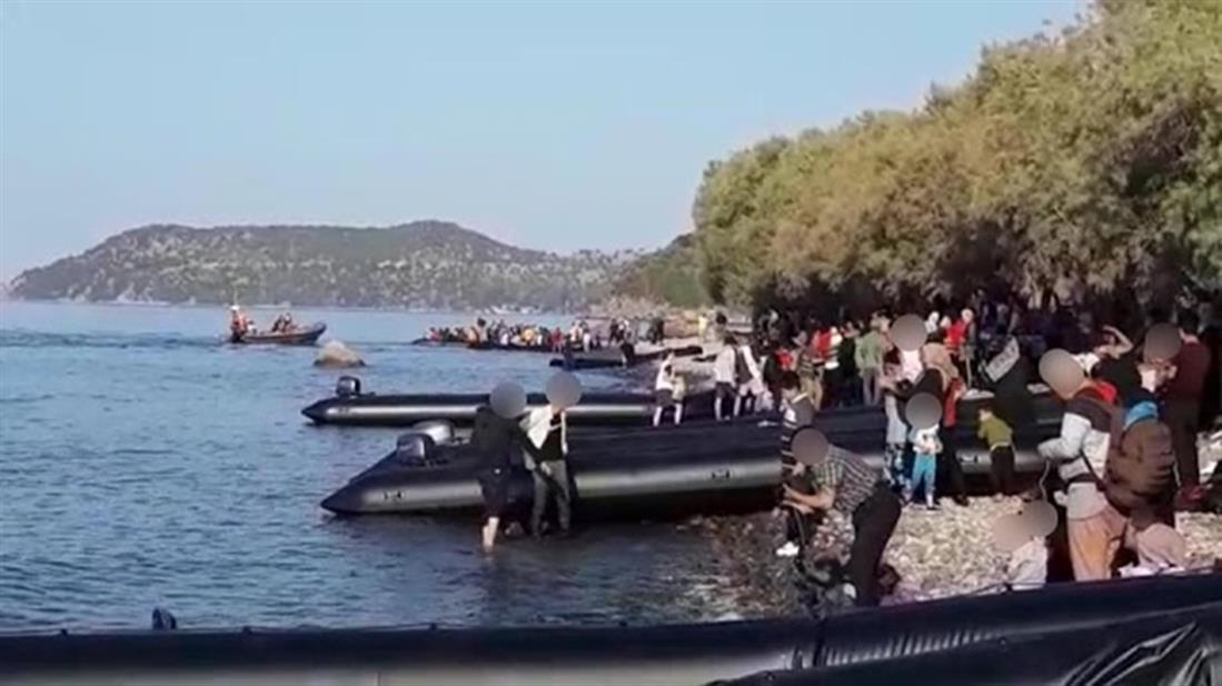 Λέσβος - πρόσφυγες - μετανάστες