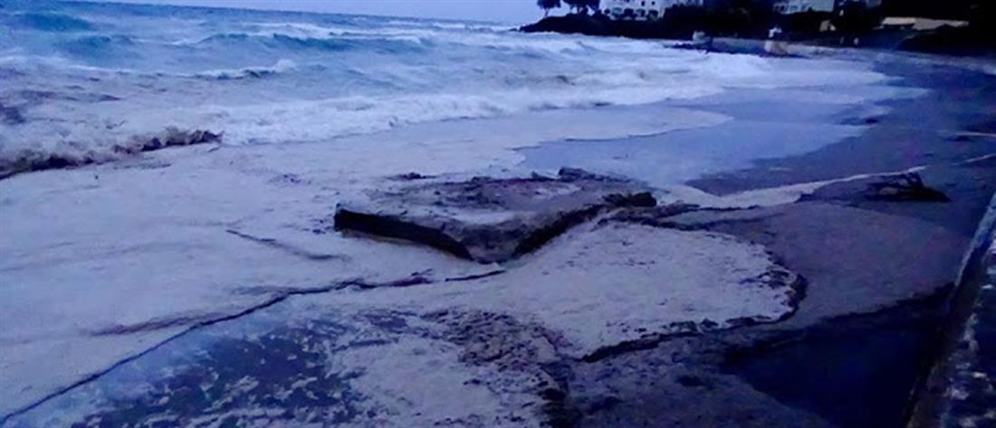 Πετρελαιοκηλίδα 1000 μέτρων στις ακτές των Κυθήρων (Βίντεο)