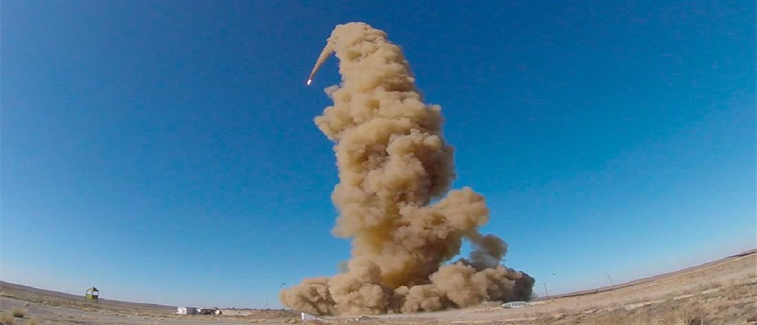 Δοκιμή νέου πυραυλικού συστήματος από τη Ρωσία (βίντεο)