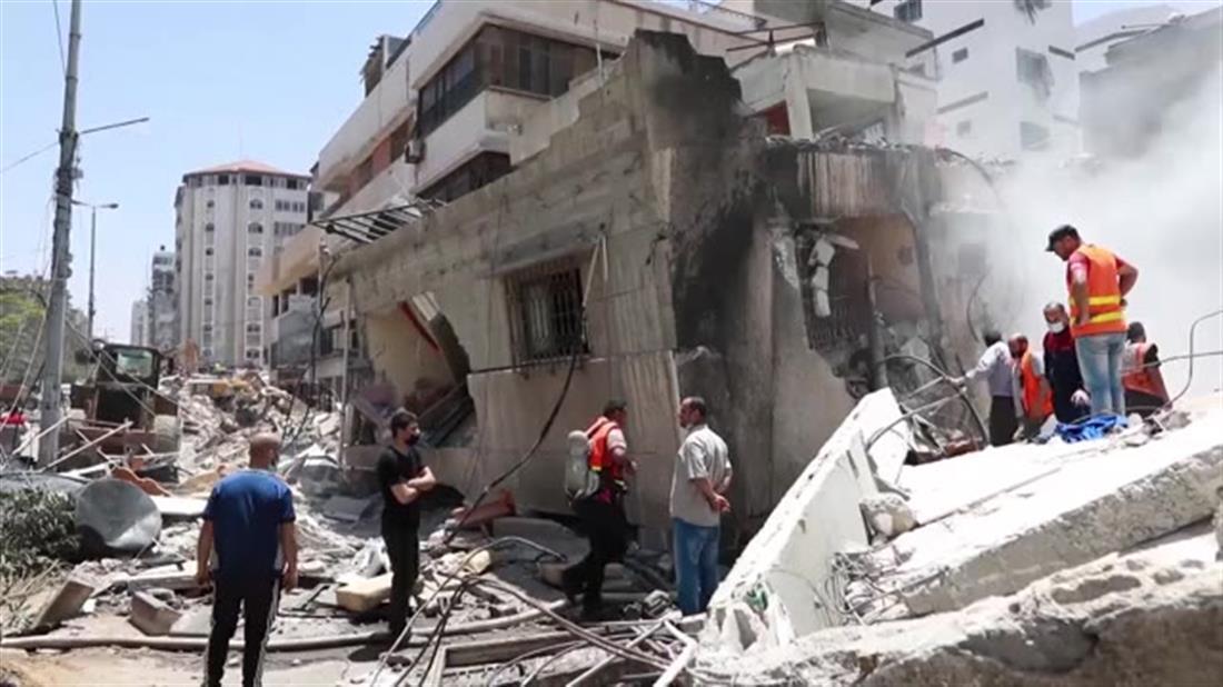 Γάζα: παλαιστίνιοι βρίσκουν καταφύγιο σε σχολεία