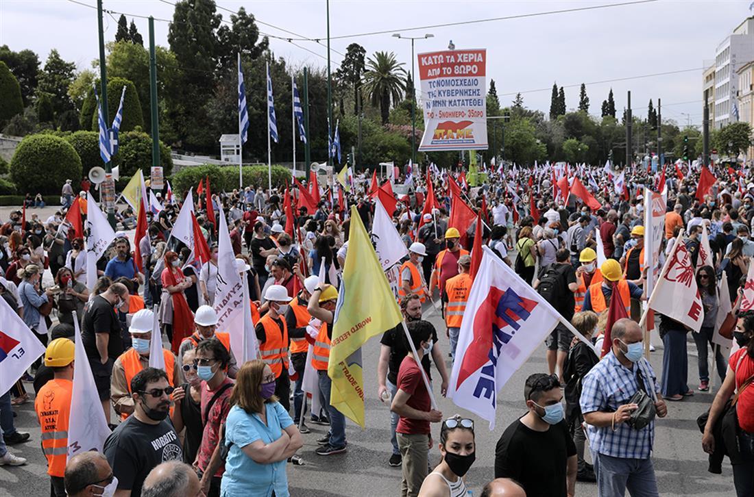 Απεργία - Σύνταγμα - ΠΑΜΕ