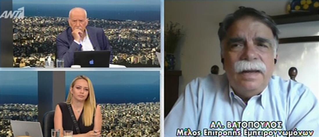 Βατόπουλος για μετάλλαξη Δέλτα: χρειάζεται εξέταση ακόμη και με ένα απλό συνάχι (βίντεο)