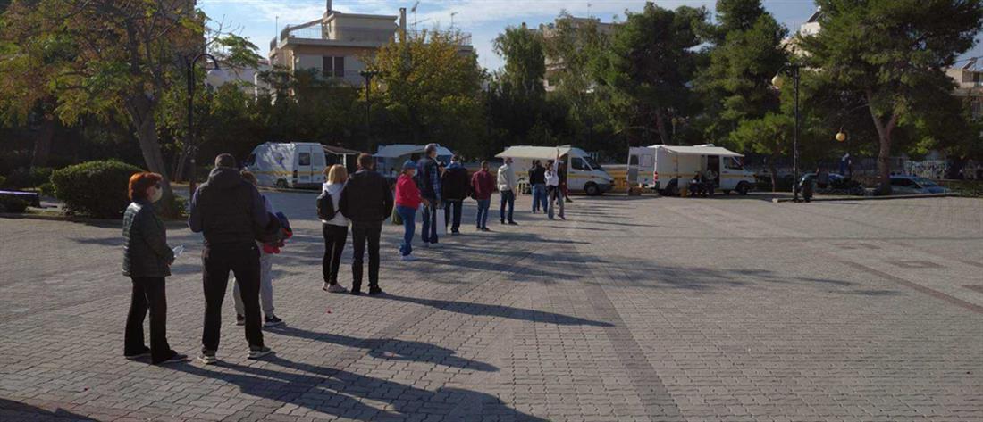 ΕΟΔΥ - Ελληνικό: 21 ετών η μέση ηλικία των νέων κρουσμάτων (εικόνες)