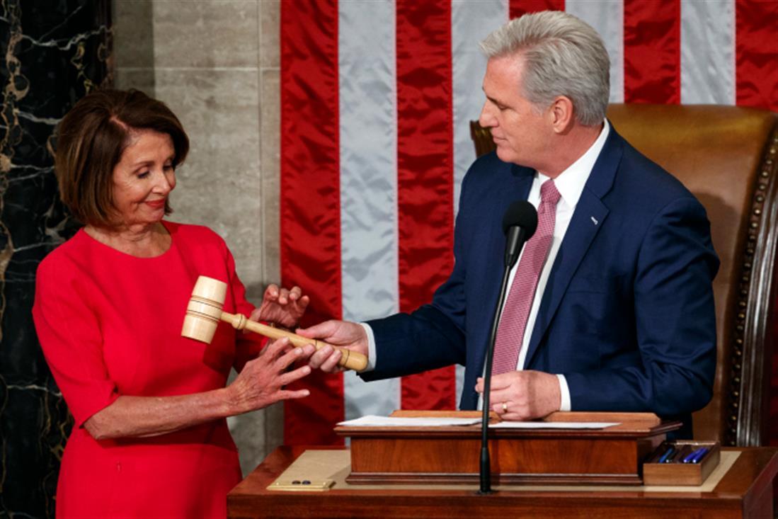 Νάνσι Πελόζι - Βουλή των Αντιπροσώπων - ΗΠΑ