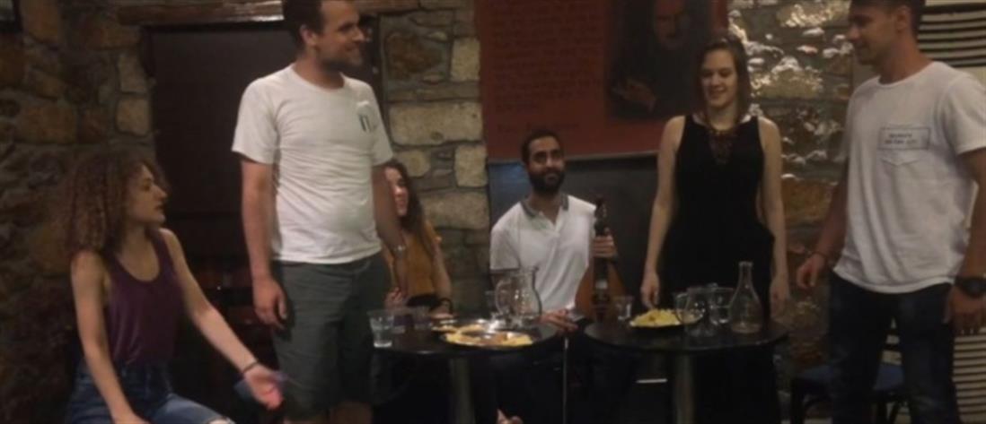 Το βίντεο μιας παρέας νέων στην Κρήτη για τις κούπες και την οδήγηση
