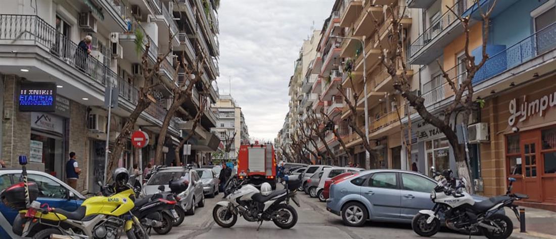 Πανικός από έκρηξη σε διαμέρισμα (εικόνες)