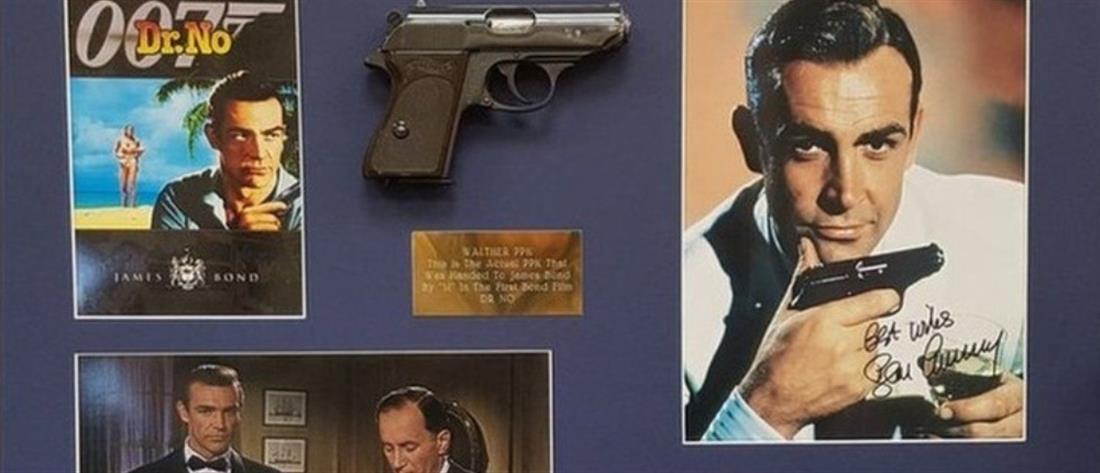 """Σον Κόνερι: """"Στο σφυρί"""" το θρυλικό όπλο του ως """"007"""""""