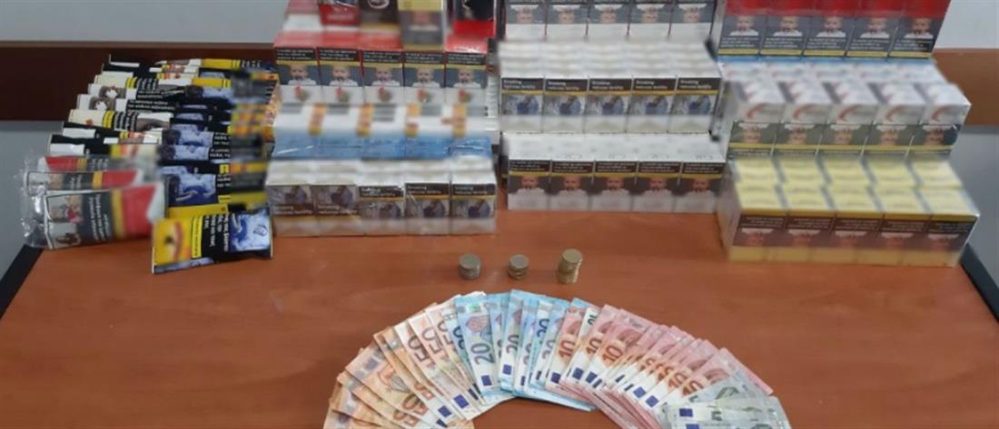 Κατασχέθηκαν χιλιάδες πακέτα με λαθραία τσιγάρα (εικόνες)