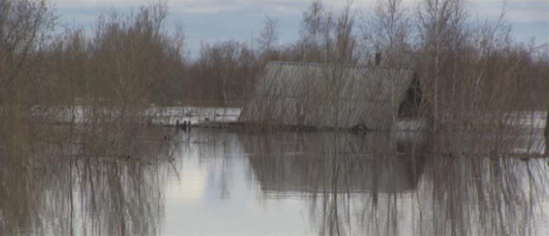 Πλημμύρες στη Σιβηρία (εικόνες)