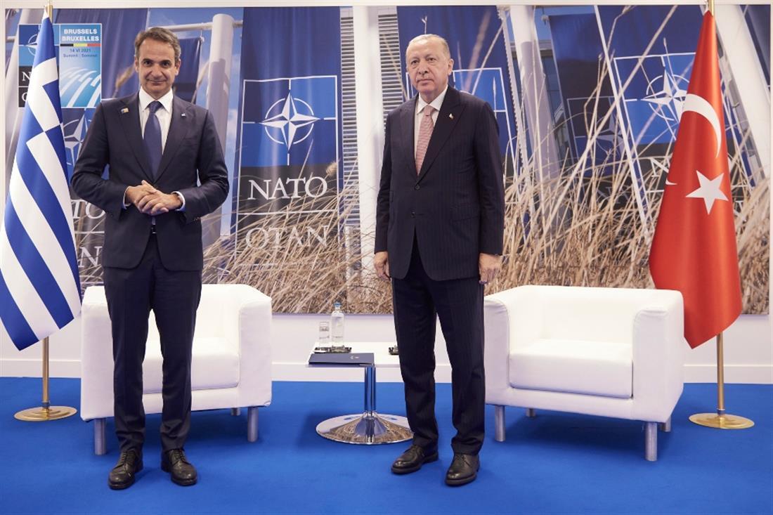 ΝΑΤΟ - Μητσοτάκης - Ερντογάν