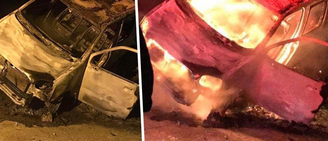 Έπεσε στον γκρεμό, λαμπάδιασε το αυτοκίνητο και βγήκε ζωντανός (εικόνες)