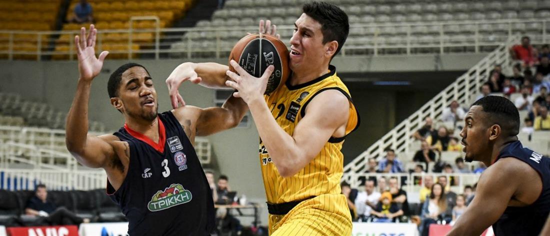 """Basket League: """"Καταιγιστική"""" η ΑΕΚ, εντυπωσίασε ο ΓΣΛ Φάρος"""