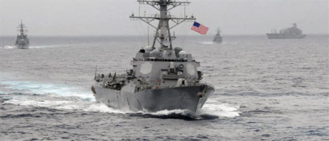 ΗΠΑ σε Ερντογάν: Έχουμε 10 πολεμικά πλοία, 130 αεροσκάφη και 9000 πεζοναύτες στην Ανατολική Μεσόγειο