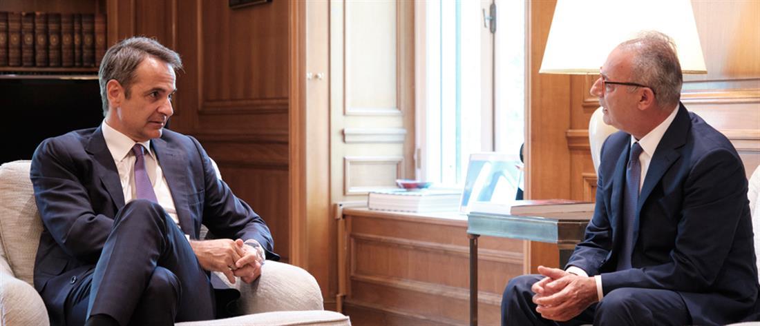 Μητσοτάκης: Ελλάδα και Κύπρος συντονίζονται κόντρα στις εθνικές προκλήσεις