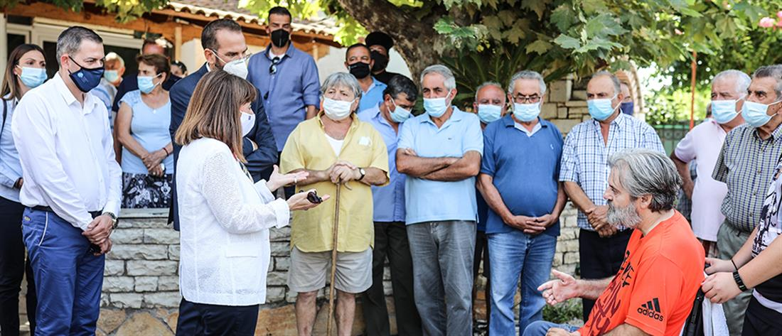 Σακελλαροπούλου από Ηλεία: χρέος μας να στηρίξουμε τους πληγέντες από τις φωτιές