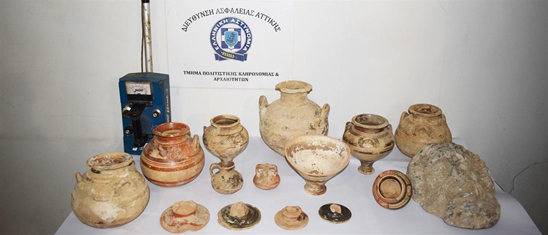 """""""Στα πράσα"""" πιάστηκαν αρχαιοκάπηλοι (εικόνες)"""