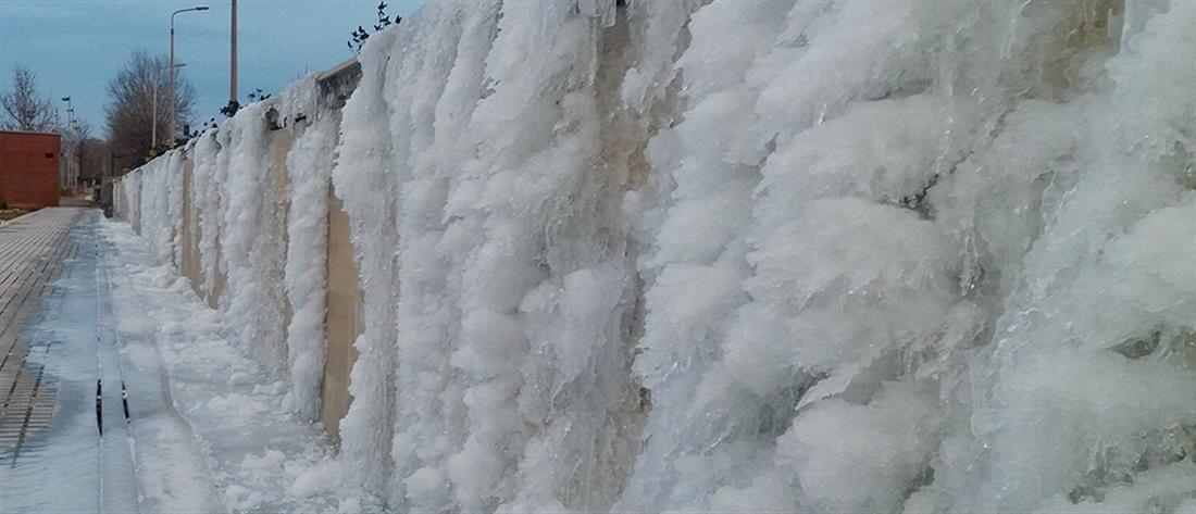Όπου νερό και σταλακτίτης στη βόρεια Ελλάδα! (φωτο+βίντεο)