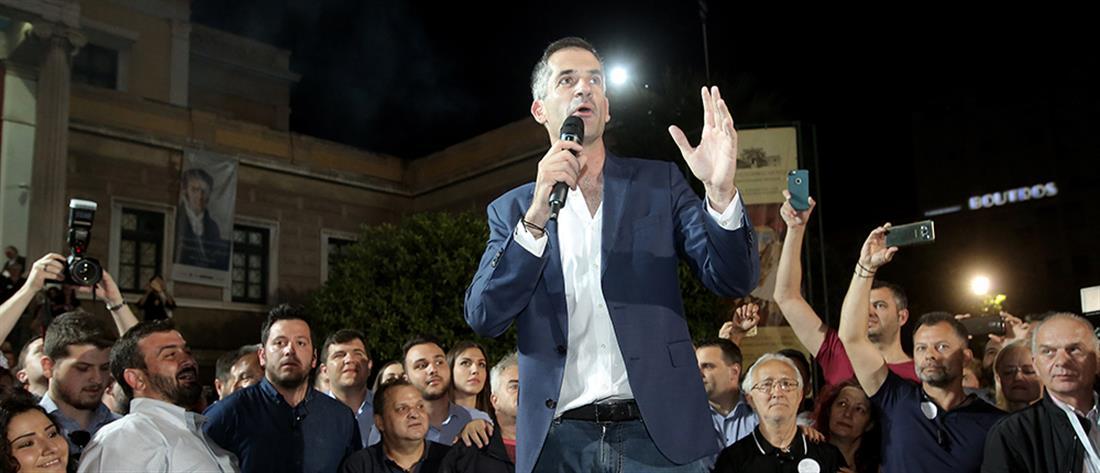 Ο Κώστας Μπακογιάννης νέος δήμαρχος Αθηναίων