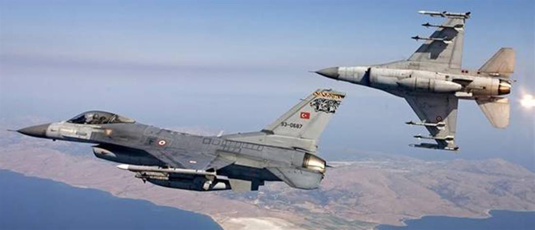 Μπαράζ τουρκικών υπερπτήσεων στο Αιγαίο