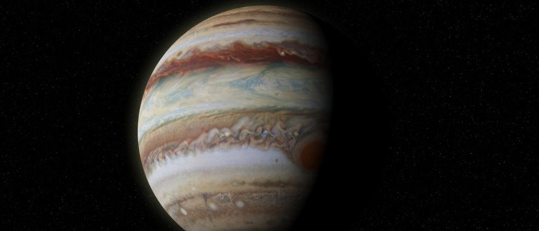 Νέα εντυπωσιακή φωτογραφία του Δία τράβηξε το Hubble (εικόνα)
