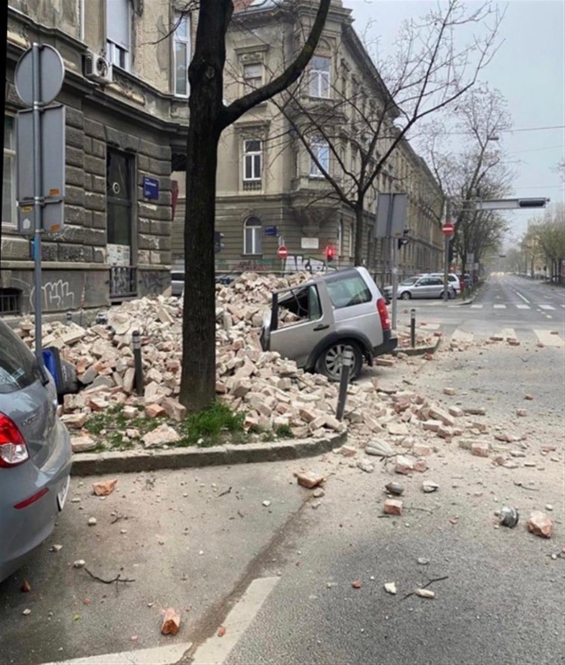σεισμός - Κροατία