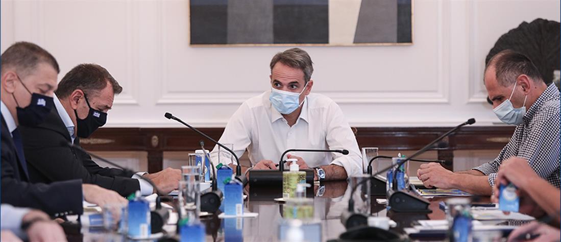 Σύσκεψη στο Μαξίμου για τις φωτιές: Και ο Στρατός στη μάχη   Πολιτική   ANT1 News