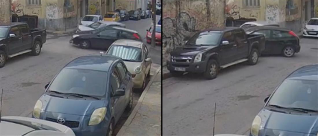 Παραβίασε STOP και συγκρούστηκε με διερχόμενο αυτοκίνητο (βίντεο)