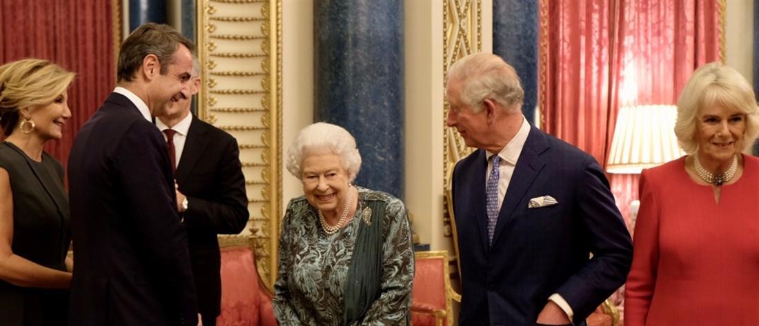 Κυριάκος Μητσοτάκης: Στο παλάτι του Μπάκιγχαμ μαζί με την Μαρέβα (εικόνες)